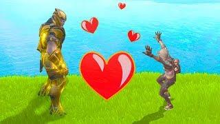 THANOS Found LOVE And DIED For Her | Fortnite WTF, Troll & Funny Moments #18