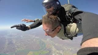 Tandem Skydive | Steven from Young Harris, Ga