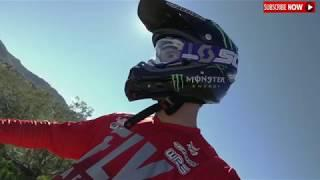 Extreme sports Motocross amazing off road drive