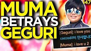 Muma Betrays Geguri - Overwatch Funny Moments 147