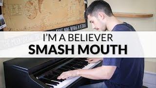 Smash Mouth - I'm A Believer (Shrek Soundtrack) | Piano Cover