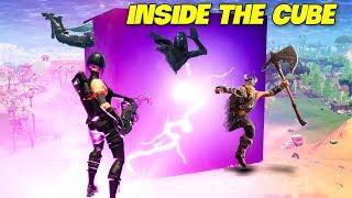 Getting Inside The Cube Lightning..! | Fortnite Twitch Funny Moments #161