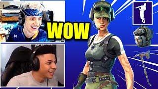 NINJA REACTS *NEW* TWITCH PRIME PACK! *EPIC* Fortnite - Funny and OP Moments