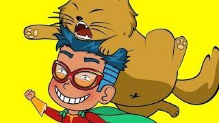 Jack is Superman | Funny Animated Cartoon | Cartoon for Children by SM Cartoons TV