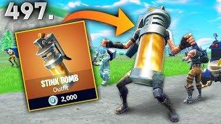 *NEW SKIN* STINK BOMB..?!! Fortnite Daily Best Moments Ep.497 (Fortnite Battle Royale Funny Moments)