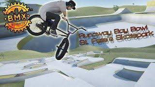 BMX Streets PIPE - So Much Flow! - St. Pete's Skatepark & Runaway Bay Bowl