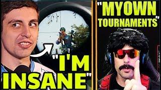 Shroud BEST PLAY EVER!? DrDisrespect Starting PUBG Tournaments! PUBG Funny Moments/Fails/WTF Plays