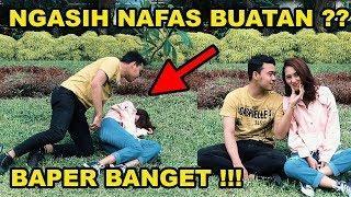 SUMPAH WANITA CANTIK INI !!!! AWALNYA DI GOMBALIN TAPI TIBA TIBA PINGSAN - PRANK INDONESIA TERBARU