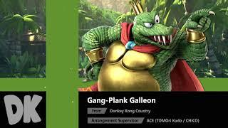 Gang-Plank Galleon (Donkey Kong Country) - Super Smash Bros. Ultimate Soundtrack
