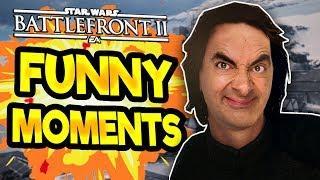 Star Wars Battlefront 2 Funny & Random Moments [FUNTAGE] #28