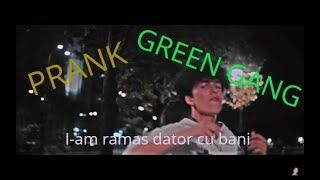 PRANK unui membru din Green Gang ! #LaStradaMare