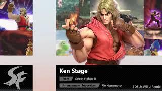 Ken Stage (3DS & Wii U Remix) - Super Smash Bros. Ultimate Soundtrack