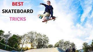 BEST SKATEBOARD TRICKS 2018! SKATE & SKATEBOARDING & SKATING TRICKS COMPILATION #25