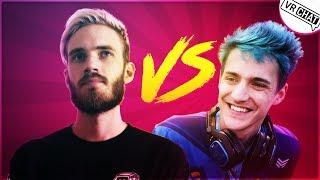 Pewdiepie VS Ninja! | VRChat Moments That Are Actually Funny #82
