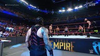 Roman Reigns | Samoa Joe | Bray wyatt | Seth Rollins | Finn Balor | Extreme Rules (HD)