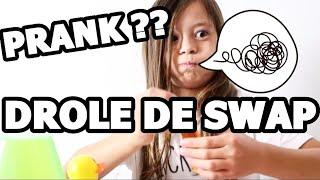 PRANK ?? LE DROLE DE SWAP DE SWANN COOKING MAGIC ???? | Partie 3