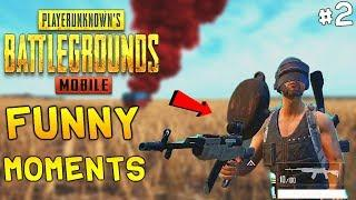 PUBG Mobile Funny Moments Glitches, Bugs, Fails & Voice Chat Compilation #2 | PUBG WTF moments