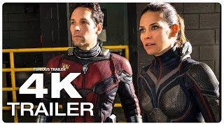Ant Man and the Wasp Trailer (4K ULTRA HD) 2018 | Ant Man 2 Superhero Movie Trailer HD