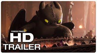 HOW TO TRAIN YOUR DRAGON 3 New Dragons Trailer (NEW 2019) Animated Movie HD