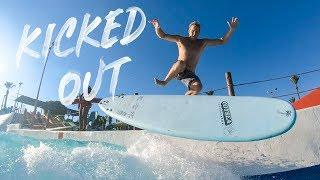KICKED OUT OF A WAVEPOOL | JAMIE O'BRIEN