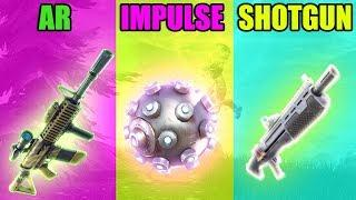 THERMAL AR vs IMPULSE vs SHOTGUN in Fortnite Battle Royale! - Funny Fails and Epic Moments! #87