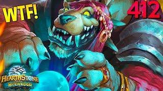 Hearthstone Daily WTF Funny Moments 412! Lucky and Epic Plays!