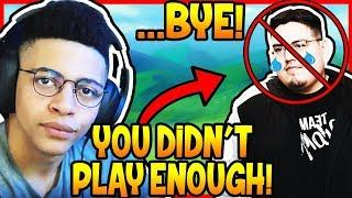 MYTH REACTS TO TSM CAMILLS GETTING BENCHED! | Fortnite Epic & Funny Moments