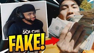 Daequan Sneak DISSING RiceGum's DISS TRACKS?! - Fortnite Best and Funny Moments