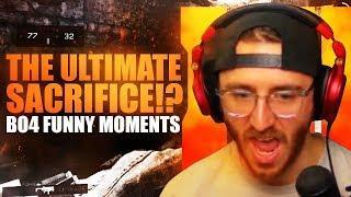 THE ULTIMATE SACRIFICE!? - BO4 Beta Funny Moments