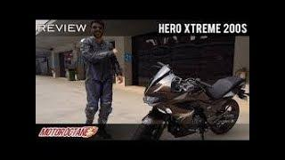 Hero Extreme 200S | Review + Test Drive | MotorOctane