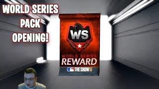 World Series Pack Opening MLB The Show 18 Diamond Dynasty