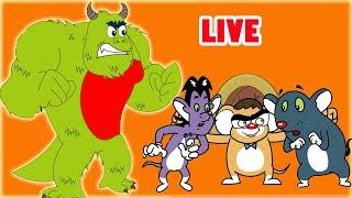 Rat-A-Tat |'LIVE -Monster in Town + Cartoon Movies'| Chotoonz Kids Funny Cartoon Videos