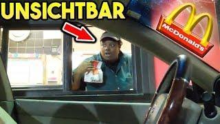McDonalds PRANK | UNSICHTBAR IM AUTO | FLEX IT