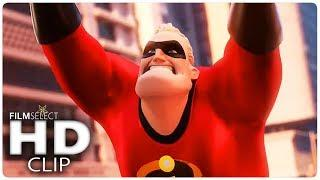 INCREDIBLES 2 Final Clips + Trailers (2018)