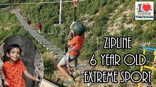 Zipline @ IKya Adventures, Mussoorie| Prakhar Trikha  | Extreme Adventure Sports