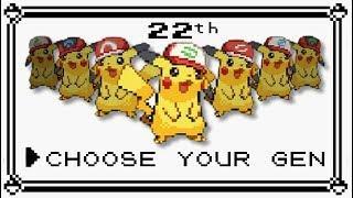 Pokémon - All Themes/Soundtracks [GEN 1-7] (OST MEGAMIX 22th)