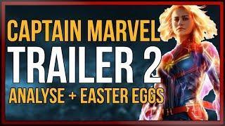 CAPTAIN MARVEL Trailer 2 - ANALYSE und EASTER EGGS des neuen Captain Marvel Trailers [onsXreen]