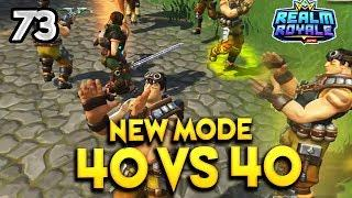 NEW MODE: 40 vs 40 ! - Realm Royale Daily Best Funny Moments Ep.72