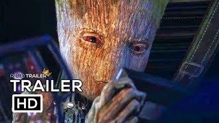 AVENGERS: INFINITY WAR Teen Groot Vs Starlord Trailer NEW (2018) Marvel Superhero Movie HD