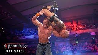 FULL MATCH - John Cena vs. Batista - WWE Title Last Man Standing Match: WWE Extreme Rules 2010