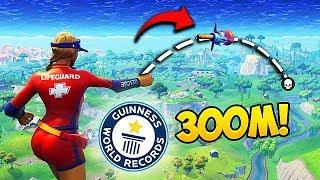 *WORLD RECORD* NEW LONGEST GRENADE KILL! - Fortnite Funny Fails and WTF Moments! #331